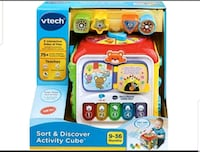 FRENCH VERSION VTECH SORT AND DISCOVER CUBE Toronto, M1B