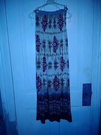 women's white and purple maxi skirt Augusta, 30904