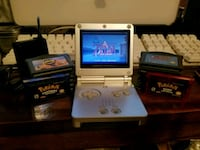 Gameboy Advanced SP w/15 games Edinburg, 78542