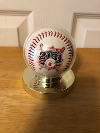 """Cal Ripken Jr 2131 September 6, 1995"" Fotoball Baseball in case Baltimore, 21236"