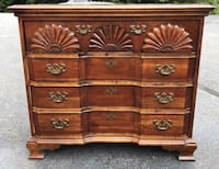 brown wooden 6-drawer lowboy dresser Manassas, 20110