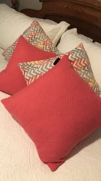 "4 - 16"" square Toss Cushions"