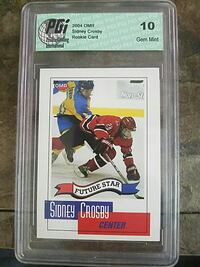 Future Star Sidney Crosby trading card Red Deer, T4R 1T7