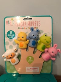 Finger puppets by Magic Years Belmont, 94002