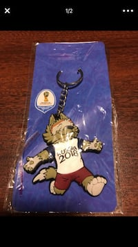 World Cup - Russia 2018 - Key Ring Frederick, 21702