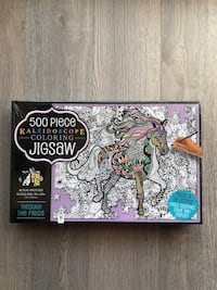 NEW 500 Piece Colouring Jigsaw Puzzle Markham, L6B 0R9