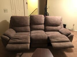 Suede couches for sale