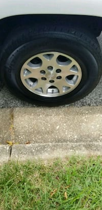 gray 5-spoke car wheel with tire Washington, 20010