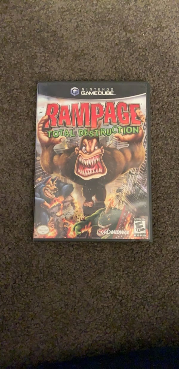 Used Rampage Total Destruction For Gamecube Wii For Sale In