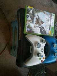 white Xbox 360 with two controllers Tempe, 85282