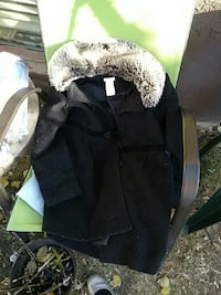 black and gray fur jacket Edmonton, T5B 2Z4