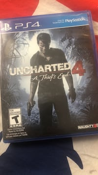 Uncharted 4 game ps4 Toronto, M2J