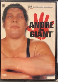 Andre the Giant DVD, brand new - Item is in original shrink wrap.