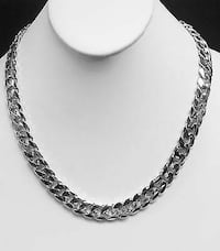 24 inch Silver necklace