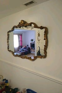 brown wooden framed wall mirror Chesapeake, 23321