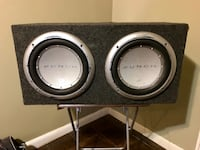 """12"""" punch subwoofer speakers"""