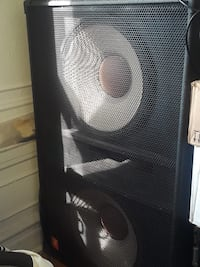 Double 18 JBL Speaker  New York