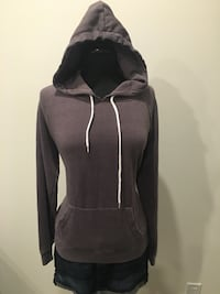 New purplish-grey hoodie size L Oakville, T1Y