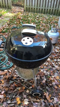 Webber charcoal grill with chimney  24 km