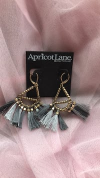 Silver-colored and bronze beaded earrings Hyattsville, 20782