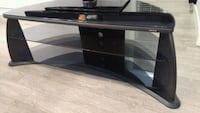 black glass top TV stand Surrey, V3W 1A6
