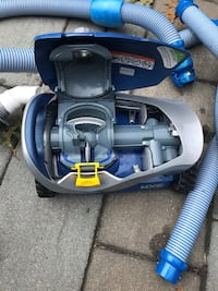 Zodiac mx6 robotic pool vac. Used 3 times. 400 new. Comes with accessory leaf catcher and a ton of hose. Practically brand new. Wading River, 11792