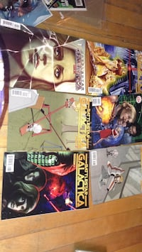 four assorted Marvel comic books Montreal, H3W 2E7