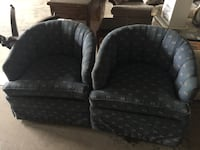 2 retro swivel chairs.... price negotiable. This item is located in Mississauga  Bradford West Gwillimbury, L3Z