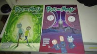 Rick y Morty temporada 1 y 2 Comic Móstoles