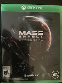 Mass Effect Andromeda Xbox One game case Edmonton, T6L 1Z3