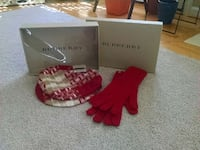 Brand new, never worn, Burberry Hat and glove set Damascus, 20872