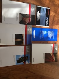 2011 Totota Rav 4 owners manuals, booklets, and pamphlets
