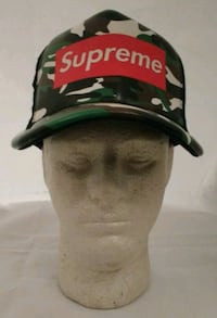 (New) Supreme Trucker Hat with Vinyl front. Minneapolis, 55413