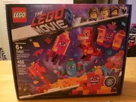 The Lego Movie 2 Queen Watevra's Build Whatever Box! New In Box.