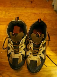 Men's hiking shoes, sz 7, leather Easton, 18040