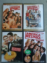 COMPLETE AMERICAN PIE DVD COLLECTION! ALL 8  Palm Harbor, 34683