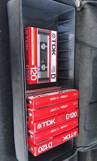 TDK D120 Tapes new made in Japan Los Angeles, 90023