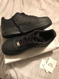 Nike Air Force 1 One Black Size 8 Men's New  Toronto, M9P 2Y4