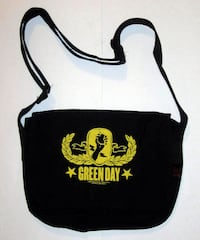 GREEN DAY YELLOW CREST SHOULDER BAG , PUNK ROCK  Toronto
