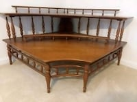 brown wooden bed frame with white mattress Millsboro, 19966