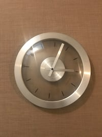 round white and gray analog wall clock Rockville, 20850