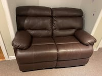 Love seat and 1 seat reacliners