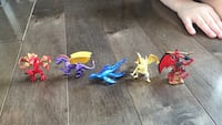 assorted colors dragon mini figure Winnipeg, R3G 1V8
