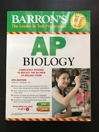 Barron's AP Biology Textbook - New Mississauga, L5N 2C4