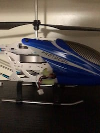 RC helicopter with box