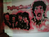 Rolling Stones Collectors Glass Panel Dundalk