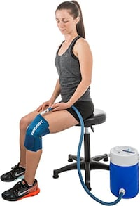 Aircast Cryo Cuff MOTORIZED Cooler Cold Therapy Unit with LARGE Knee Pad Roseville
