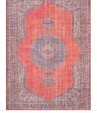 Variant Red Area Rug New!