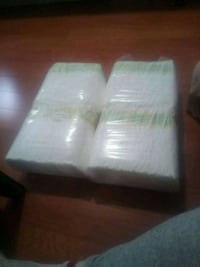 Size 3 pampers saddles 130 diapers