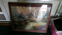 brown wooden framed painting of house Lakewood, 80214